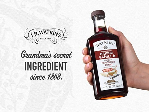 Watkins Baking Vanilla - Grandma's Secret Ingredient