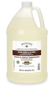 Watkins Clear Vanilla Gallon Size