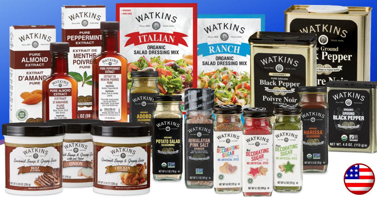 Watkins December Product Sales