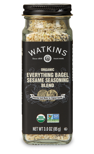 Watkins Organic Everything Sesame Seasoning Blend - Cheeseball recipe