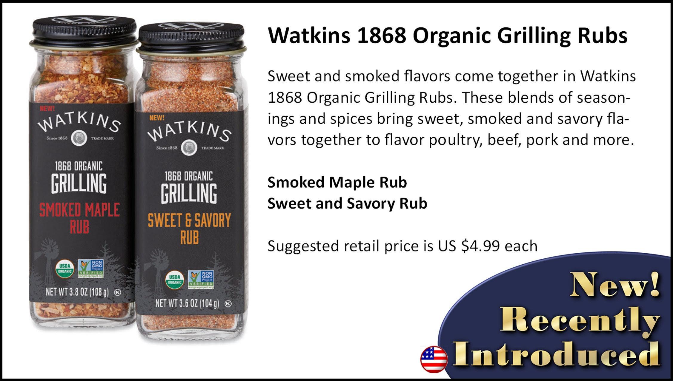 Watkins Grilling Rubs