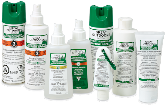 Watkins Insect Repellents containing DEET