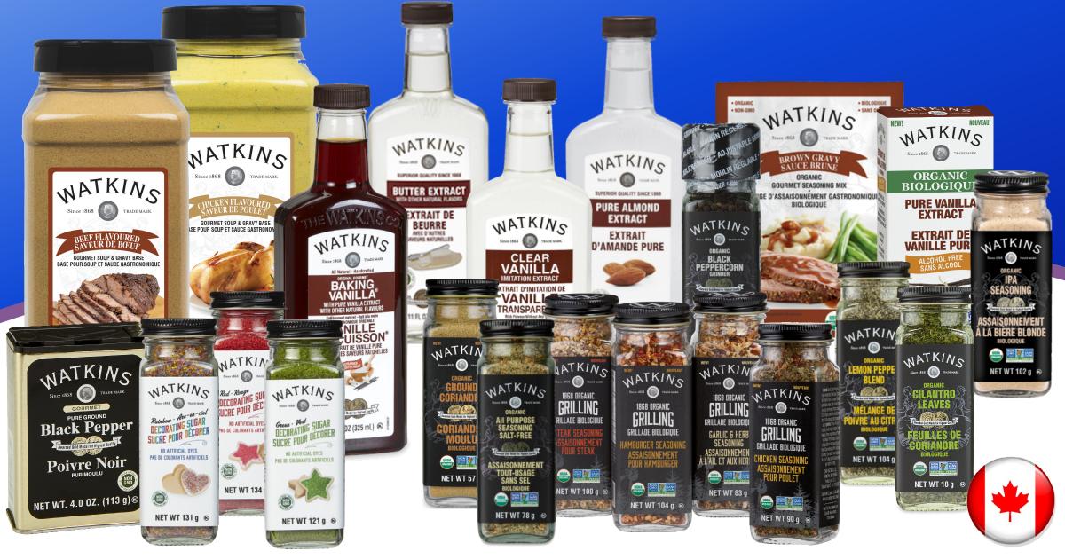 Watkins July Product Specials Canada