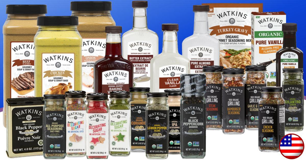 Watkins July Product Specials USA