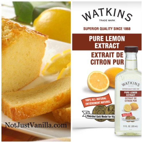 Lemon Bread with Watkins Pure Lemon Extract