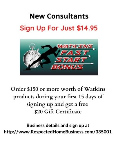 Watkins Membership Sign Up Special $14.95