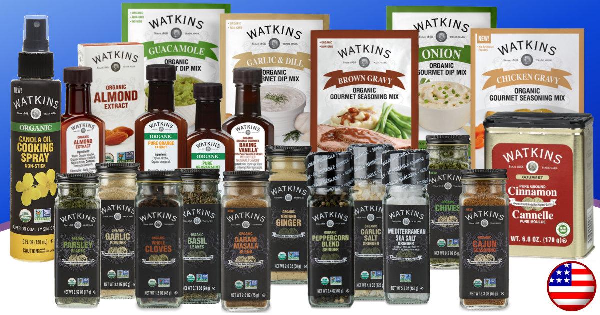Watkins May Product Sales