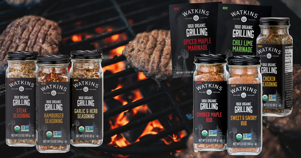 Watkins Grilling Spices