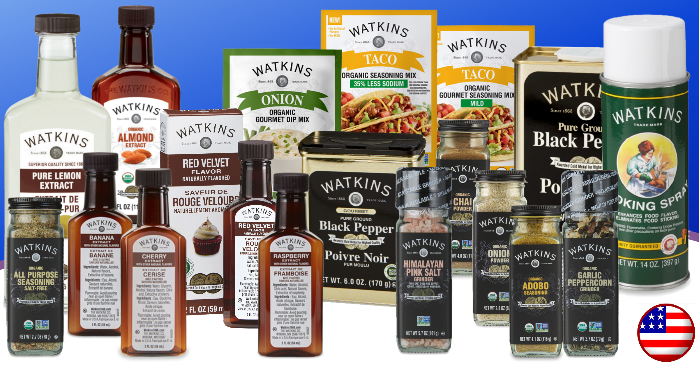 Watkins September Featured Products