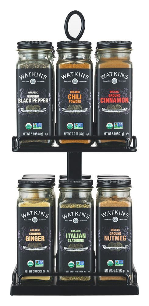 Watkins New Rotating Spice Rack