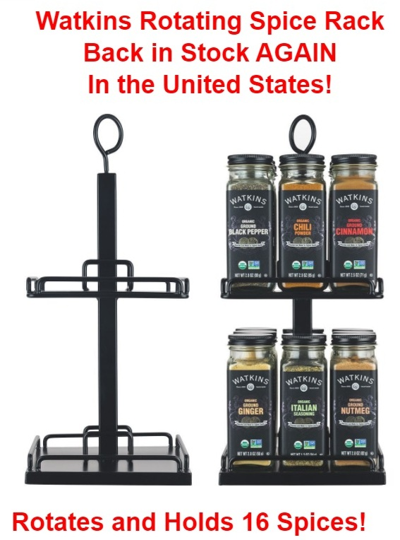 Watkins Rotating Spice Rack