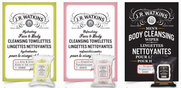 Watkins Cleansing Towelettes and Wipes