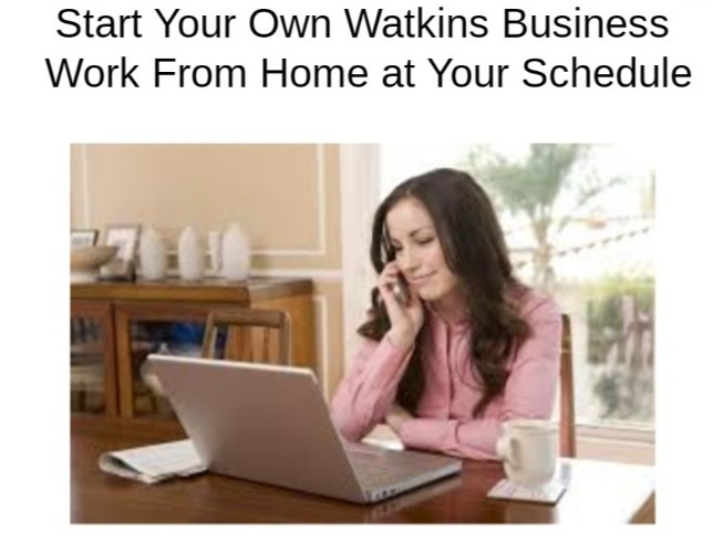 Watkins Work from Home Business
